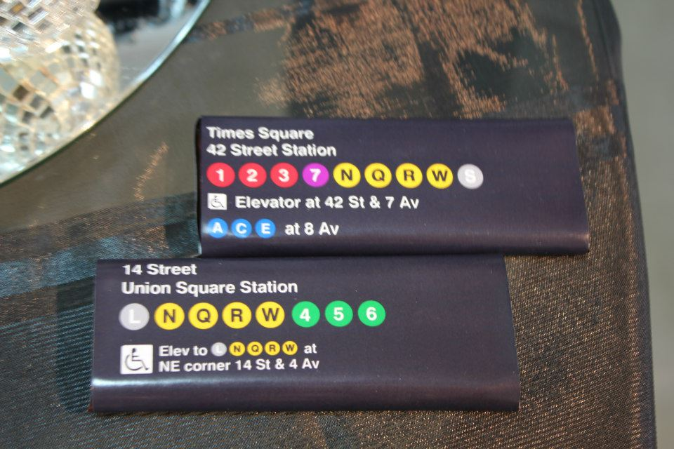 embalagem metrô nyc